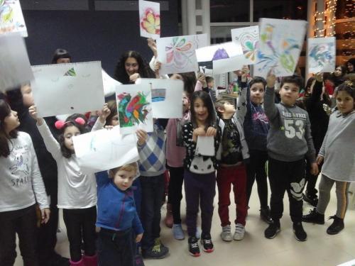 Σεμινάριο Χρώματος Δημοτική Βιβλιοθήκη Λουτρακίου ,22-12-2018 (10)